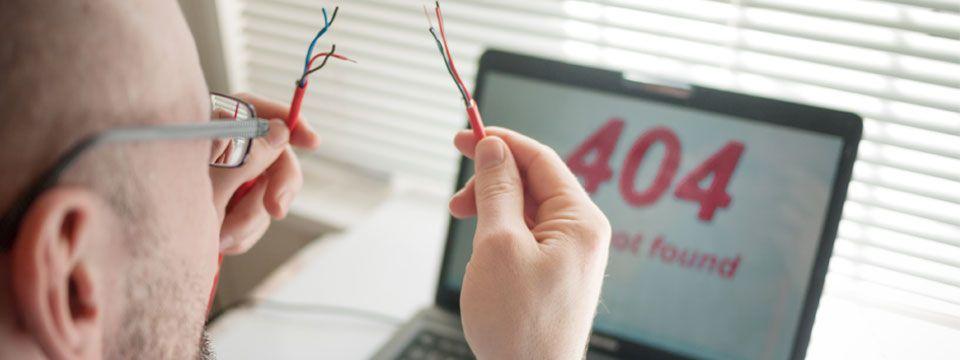 come risolvere errore 404